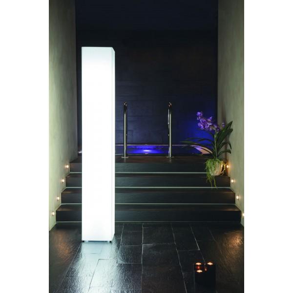 Lampada da interno illuminabile con kit luce neon Mod. TOWER