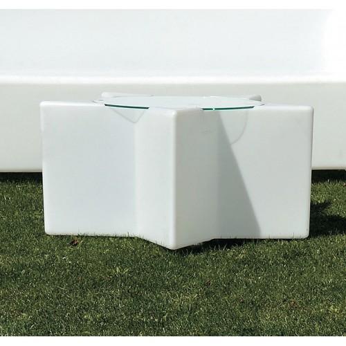 Tavolino IlluminabIle Mod. ETOILE h 40 cm Com...